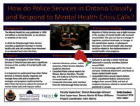 How do Police Services in Ontario Classify and Respond to Mental Health Crisis Calls? [poster]