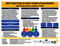 Best Practice in the Development of Hose-Homes and Respite Care for Youth [poster]
