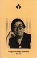 Margaret Laurence: A Memorial Tribute [program]
