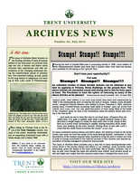 Trent University Archives News Number 63