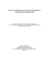 Fish and invertebrate use of invasive Phragmites in a Great Lakes freshwater delta
