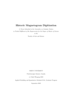 Historic Magnetogram Digitization