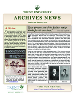 Trent University Archives News Number 62