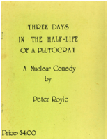 'Three Days in the half-life of a Plutocrat'