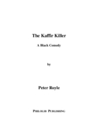 Title page of 'The Kaffir Killer'